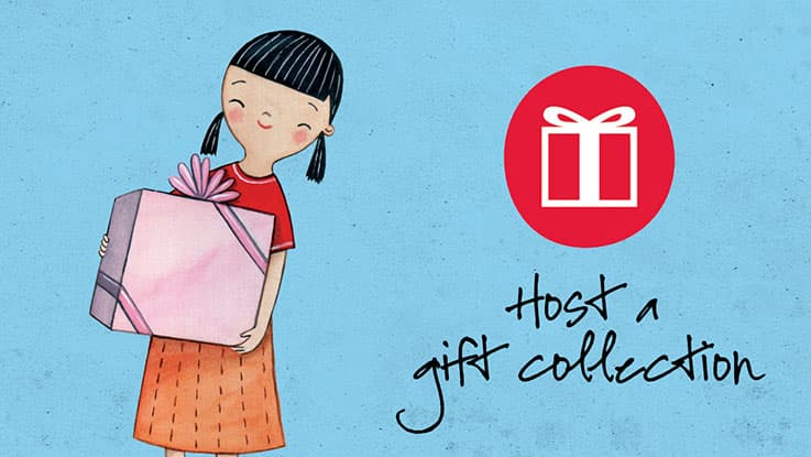Toy & Book Appeal - Host a gift collection