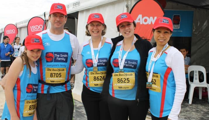 City2Surf Smith Family Team 2014