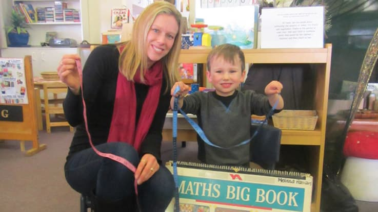 Connor and mum Rebecca - Let's Count