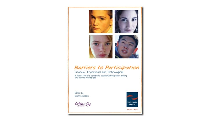 Barriers to Participation report