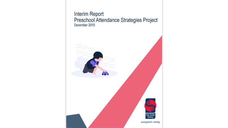 preschool attendance strategies report cover page