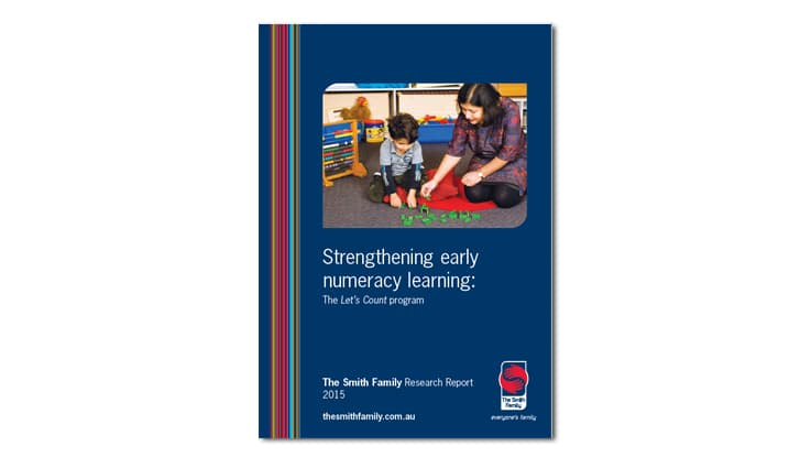 Strengthening early numeracy learning report