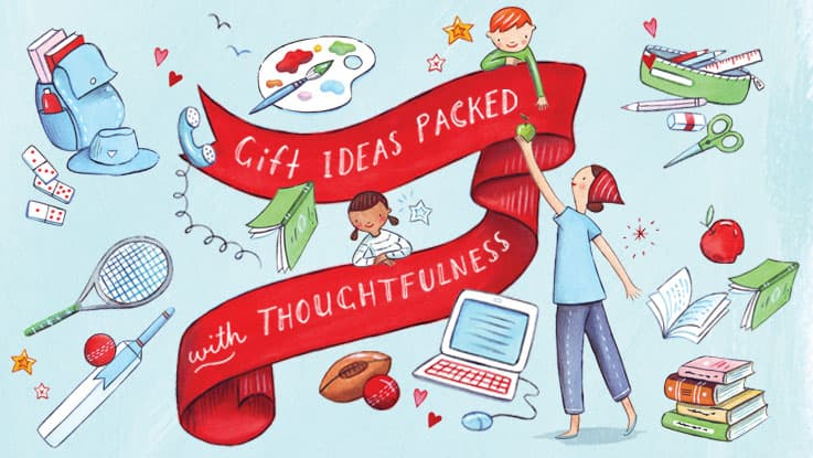 Charity Gifts - Gift ideas packed with thoughtfulness