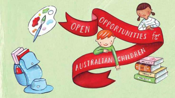 Charity Gifts - Open opportunities for Australian children