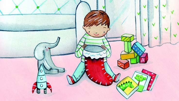 Charity Gifts - Share Christmas with a Toy & Book Pack for a Baby