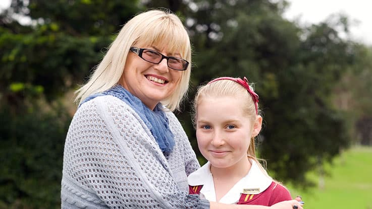 learning-for-life-student-Melaniew-with-her-mum