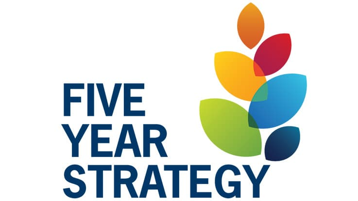 Five Year strategy logo