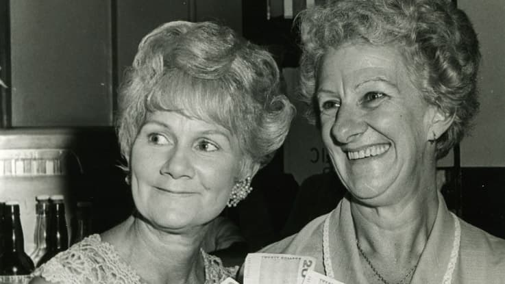 Ladies at a 1960s fundraising event