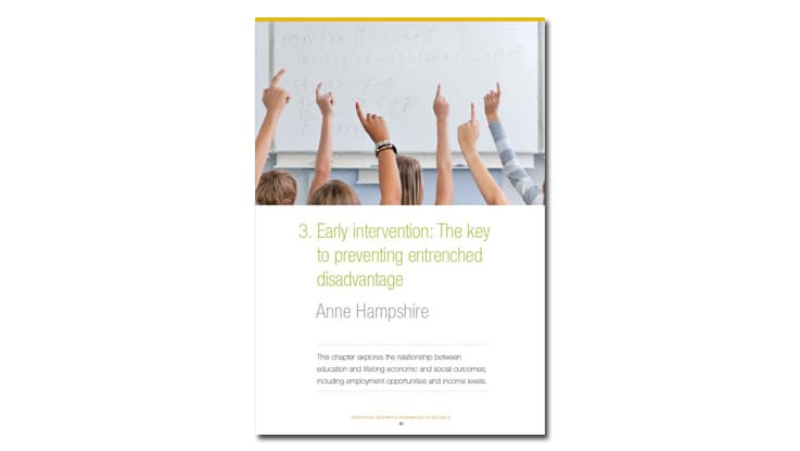 Early Intervention - CEDA report cover