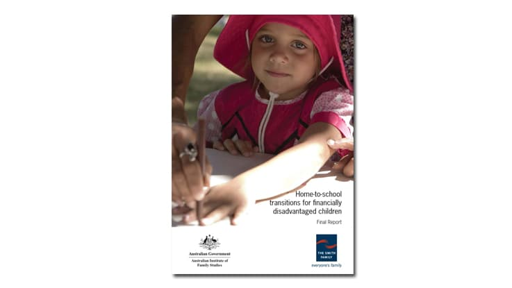 Home-to-school transitions for financially disadvantaged children report