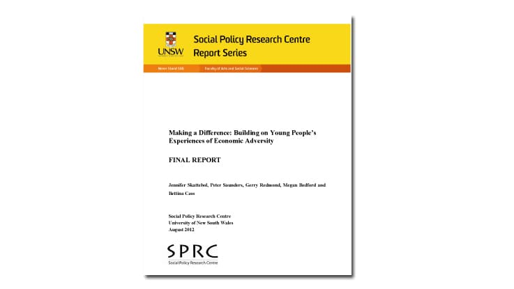 Making a difference research report