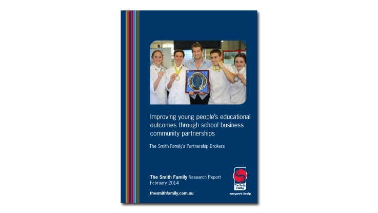 Improving young people's educational outcomes through school business community partnerships report