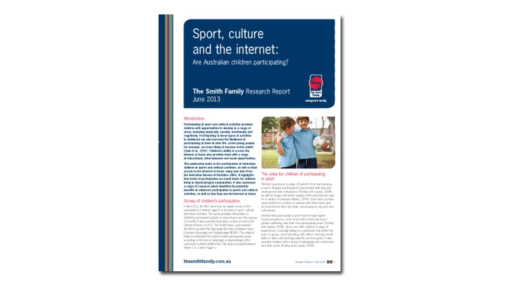 Sport, Culture and the Internet - Research report